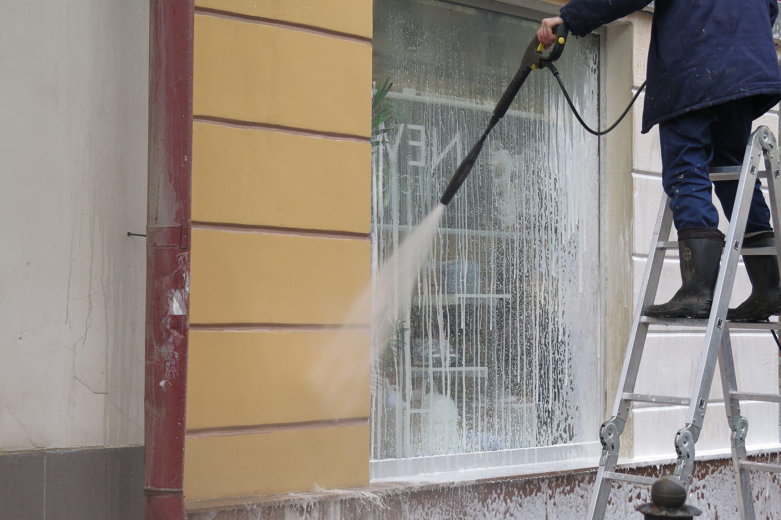 мытье фасадов пермь